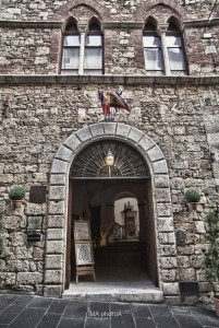 Ingresso principale di Palazzo Malfatti