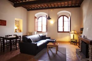 Salotto e sala da pranzo